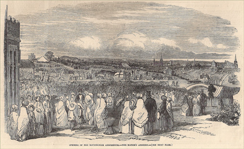 The Opening of Nottingham Arboretum in 1852