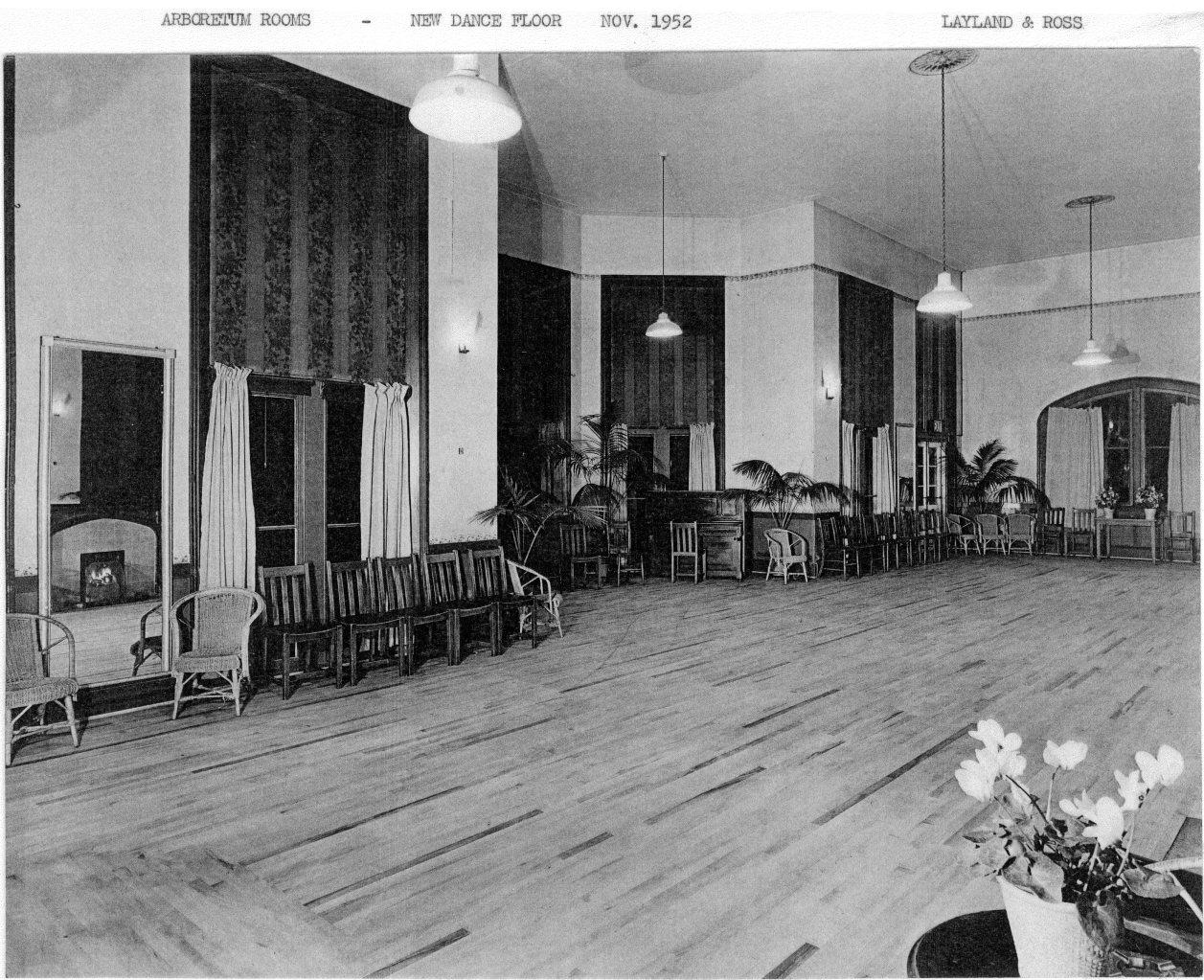 Arboretum Tea Rooms – 1952