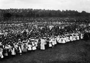 King George V Coronation celebrations, 1911  Courtesy of Nottingham City Council and www.picturethepast.org.uk