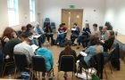 The first read through of Breathing Spaces