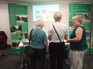 Green Spaces Project at the Great Nottinghamshire History Fair, 9 May 2016 Image: Jonathan Coope