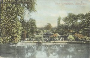 Postcard of The Arboretum, c.1900 Courtesy of the Royal Hortiicultural Soceity, Lindley Library