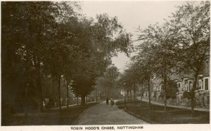 Robin Hood Chase, c.1912 Courtesy of L Cripwell and www.picturethepast.org.uk