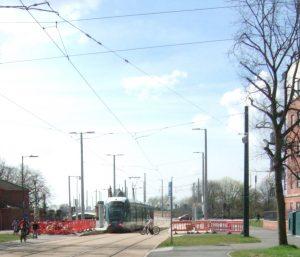 Tram Stop, Queen's Walk, near Wilford Bridge