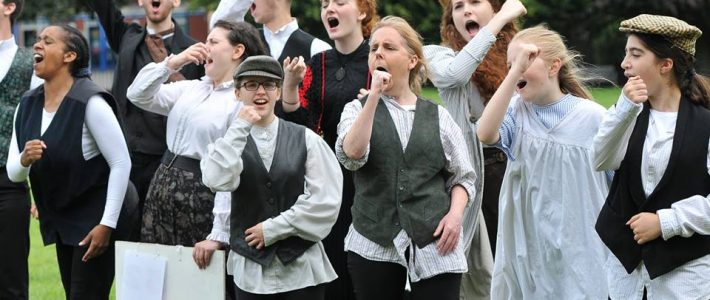 Images from Breathing Spaces, our community play