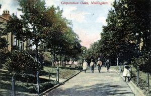 Corporation Oaks, 1909–12. Nottingham City Council and www.picturethepast.org.uk