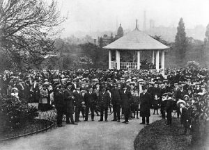 The Bandstand c1890. Nottingham City Council and www.picturethepast.org.uk