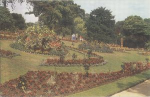 Ornamental garden, c1950. Royal Horticultural Society Lindley Library