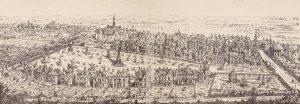 1876 prospectus for Waterloo Promenade drawn by Marrott Ogle Tarbotton, Borough Engineer. Nottingham Local Studies Library