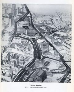 The Inner Motorway, 1965. Nottingham City Council.